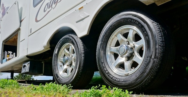 New Goodyear Endurance Tires