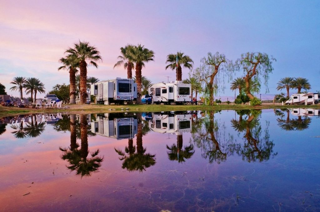 Oasis Palms RV Resort California