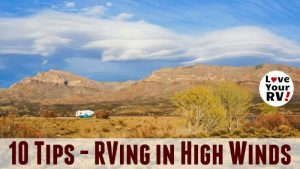RVing in Extreme Wind Tips and Tricks Feature Photo