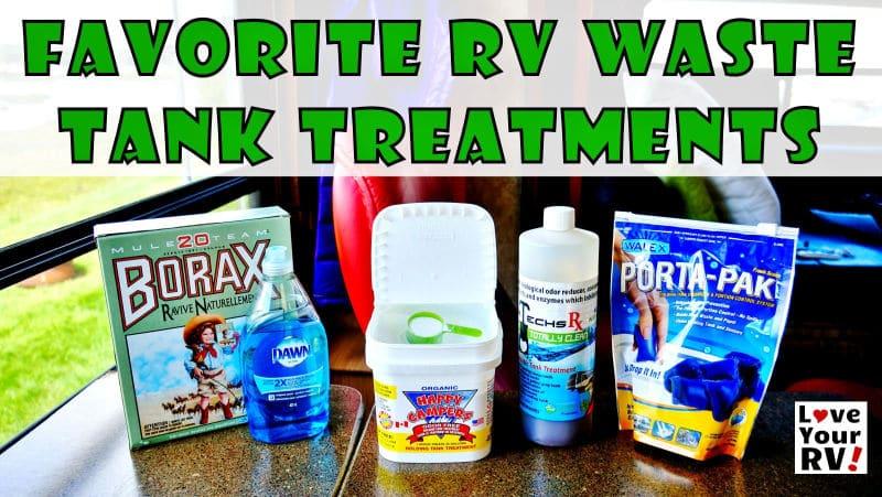 Favorite RV Tank Treatments Feature Photo
