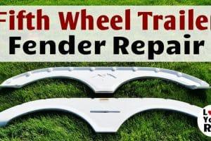 Fifth Wheel Trailer Fender Repair Feature Photo