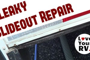 Leaky RV Slide Out Repair and Reseal Feature Photo