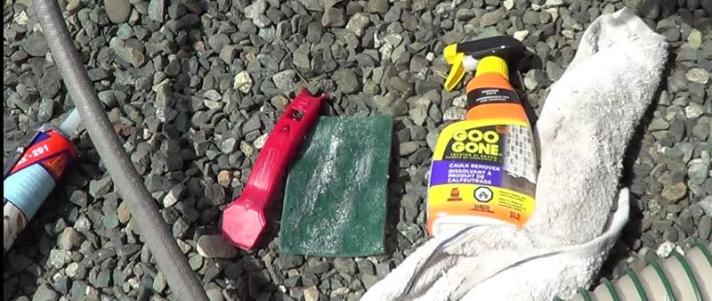 Tools to remover old RV sealant