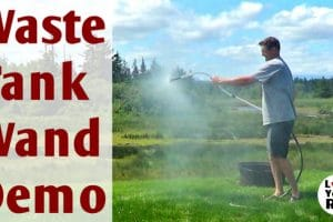 Waste Tank Cleaning Wand Demo Feature Photo