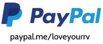 PayPal Me Love Your RV