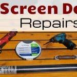 RV Screen Door Repair Feature Photo