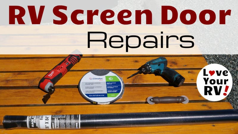 RV Screen Door Repair Feature Photo