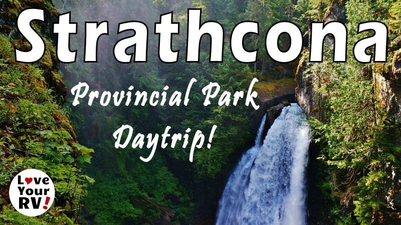 Strathcona Provincial Park Day Trip Feature Photo