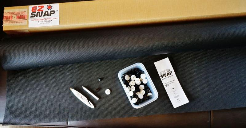 EZ Snap RV Window Shade Kit