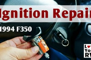 Faulty Truck Ignition Lock Cylinder Repair Feature Photo
