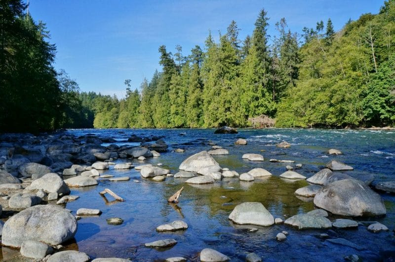 Campbell River fishing grounds