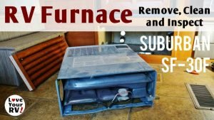 RV Furnace Removal and Cleaning Feature Photo