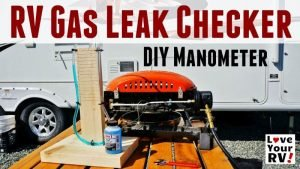 Simple DIY Manometer RV LP Gas Leak Checker Feature Photo