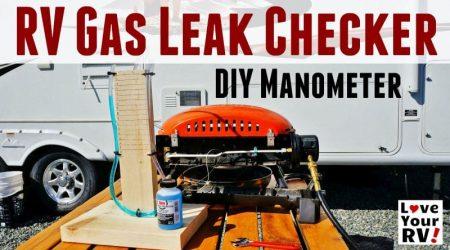 Building a Simple RV Propane Leak Tester U Tube Manometer
