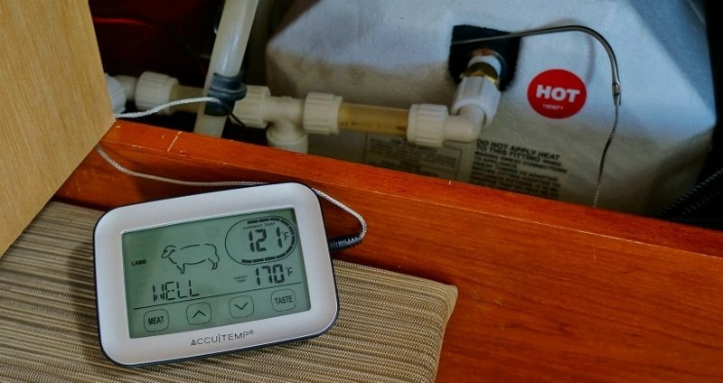 Water Heater Temperature Monitor