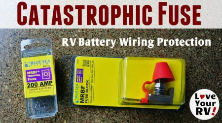Installed a Catastrophic Fuse on My RV Battery Bank