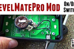 LevelMatePro Mod Added a On Off Switch Feature Photo