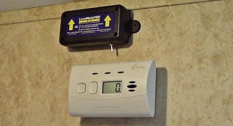 LevelMatePro with switch mounted