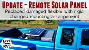 New Remote Solar Panel Installation Feature Photo