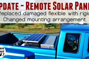 New Remote Solar Panel Installation Feature Photo