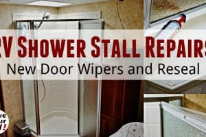 RV Shower Stall Repairs Feature Photo