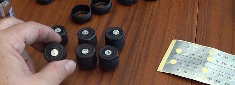 Numbering the TPMS sensors