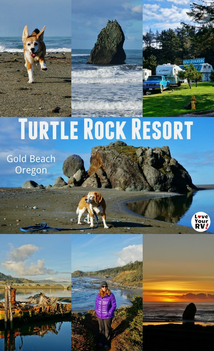 Our November 2017 visit to the Turtle Rock RV Resort in Gold Beach Oregon by the Love Your RV blog - https://www.loveyourrv.com