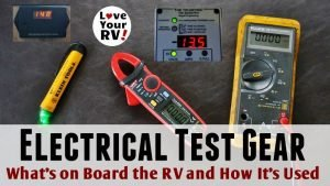 RV Electrical Test Gear Feature Photo