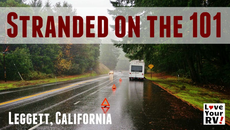 Stranded on the 101 California Feature Photo