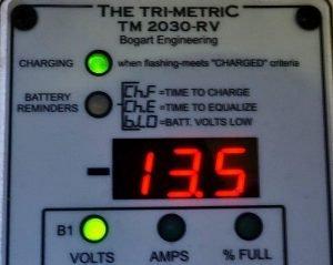 Trimetric Battery Monitor TM2030 RV