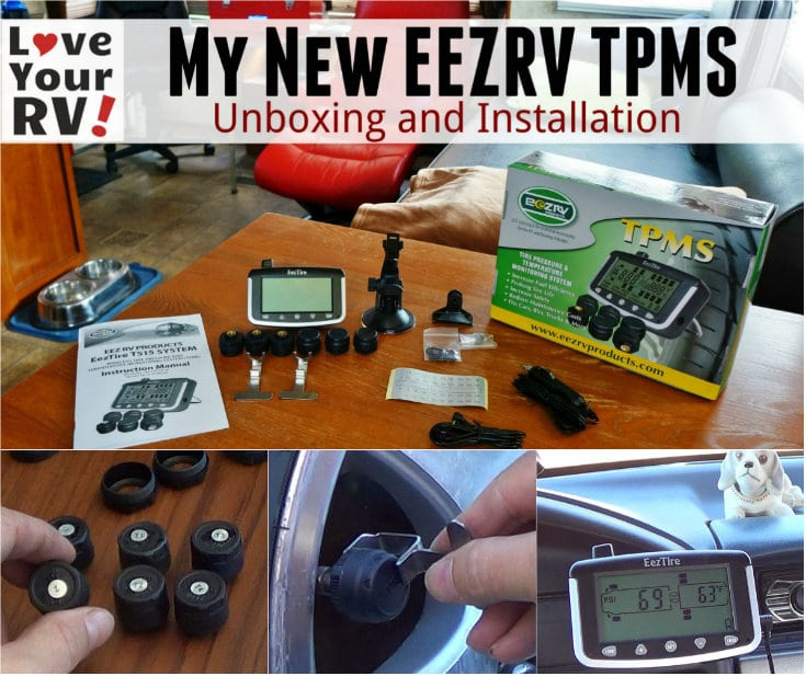 Unboxing programming and installing my new EEZRV tire pressure monitoring system by the Love Your RV blog - https://www.loveyourrv.com