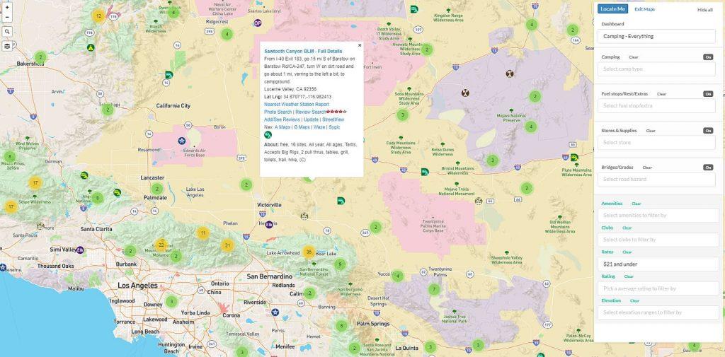 Allstays Pro Map