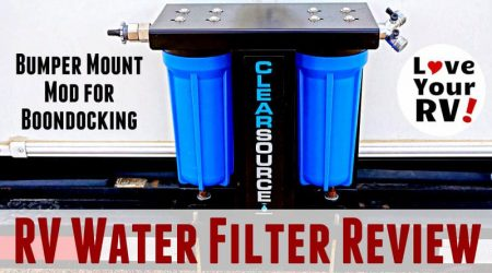 Clearsource RV Water Filter Review and Install Mod