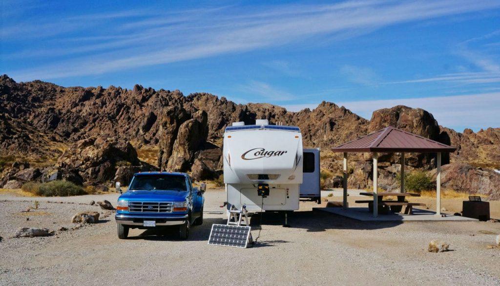 Sawtooth Canyon BLM Campground California