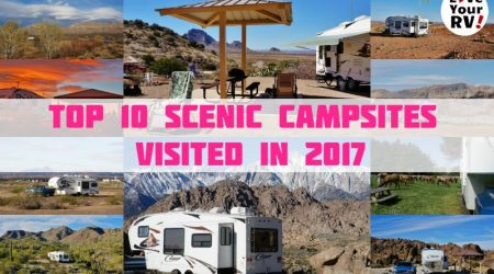 Love Your RV! Top 10 Scenic Campsites Visited in 2017
