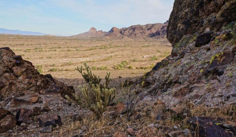 Hiking view Saddle Mountain