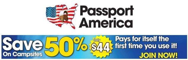 Get Passport America Discount Camping Membership
