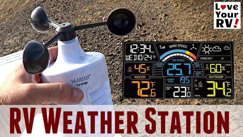 RV Weather Station Feature Photo