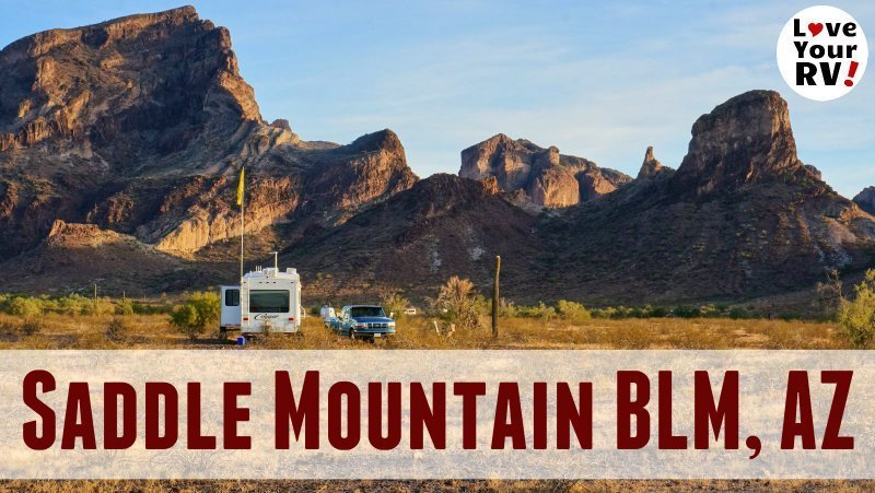 Saddle Mountain Dispersed Camping Feature Photo