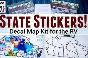 State Stickers for the RV Feature Photo