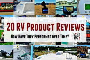 20 RV Product Review Updates Feature Photo