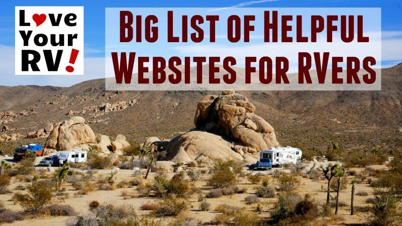 Big List of Helpful Links for RVing Feature Photo