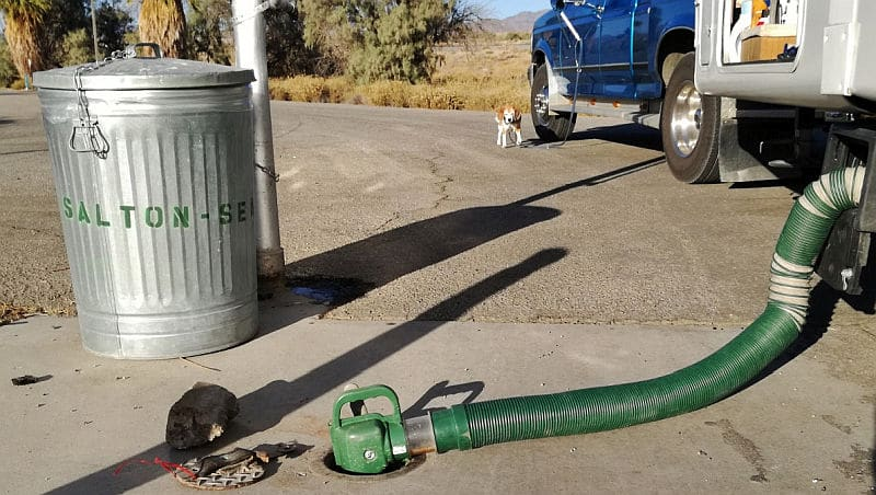 Rv Dump Station Tip To Maximize Tank Capacity
