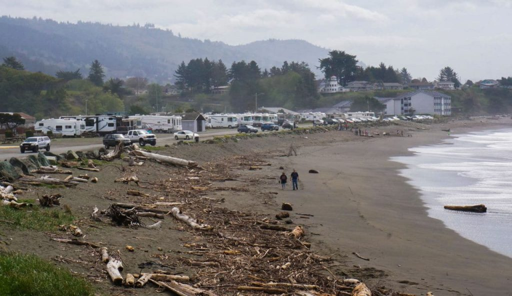 Beachfront RV Park Brookings Oregon