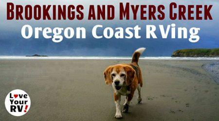 Beautiful Beachfront RVing on the Southern Oregon Coast