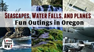 Funtimes touring the Oregon Coast - Dramatic Seascapes Pretty Water Falls and a Humongous Seaplane Feature Photo