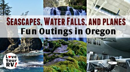 Dramatic Seascapes, Pretty Water Falls, and a Humongous Seaplane