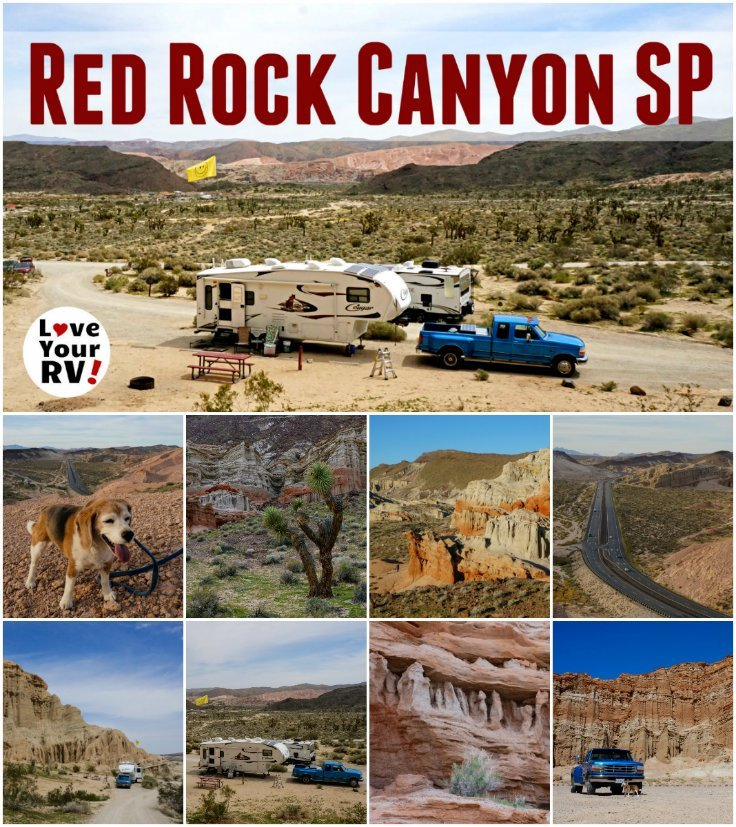 Visiting Red Rock Canyon State Park California by the Love Your RV blog - https://www.loveyourrv.com