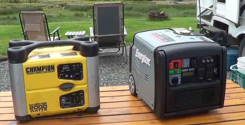 Energizer 3200 watt compared to Champion 2000 watt