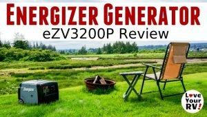 Energizer eZV3200P generator review feature photo